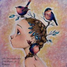 "Du livre ""Coloriage Wild""2"" d'Emmanuelle Colin  Colorié aux Holbein et Panpastel #inkybox   #coloriagewild #avenuemandarine  #holbein #panpastel #artecomoterapia #divasdasartes #colorindolivrostop #coloring #coloringforadults #coloring_secrets #coloringmasterpiece #coloriageantistress #coloringforadults #colortherapyapp #colortherapy #bayan_boyan #colouringbook #adultcoloringbook #beautifulcoloring #jardimsecreto #creativelycoloring #prismacolor  #desenhoscolorir #majesticcoloring…"