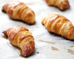 Homemade Croissants Recipe from Cooks Illustrated - they're recipes ROCK. I would so much rather make my own than use canned chemical bread dough [[Gross]]