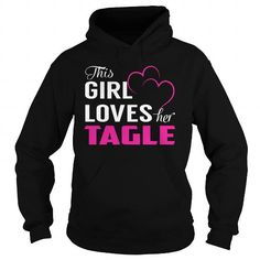 Cool This Girl Loves Her TAGLE Pink T-Shirts