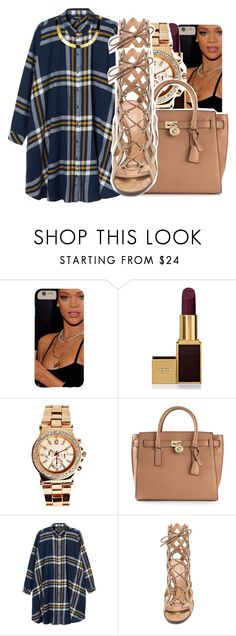 """""""10/13/15"""" by xtaymaxlovesxmisfitx ❤ liked on Polyvore featuring Tom Ford, Boohoo, MICHAEL Michael Kors, Monki, Gianvito Rossi and ASAP"""