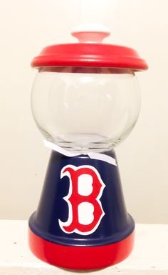 Boston Red Sox candy jar