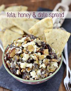 Feta, Honey & Date Spread