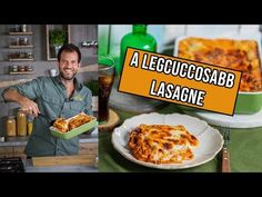 Itt a legcuccosabb lasagne a világon! Vegan Main Course, Bologna, Make It Yourself, Baking, Vegetables, Recipes, Main Courses, Food, Beverages