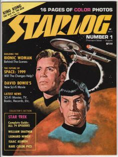 Starlog #1, August 1976, VF/NM, $50 - Space: 1999 second season changes article
