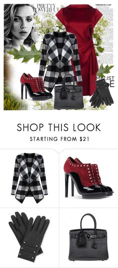 """""""Seasons changing"""" by julyralewis ❤ liked on Polyvore featuring Karen Millen, Alexander McQueen, Causse, Hermès and New Growth Designs"""