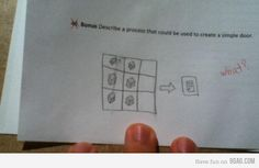 OMG, I would be so mad if I got that wrong! Lol!