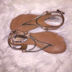 Coach sandals I'm selling a nice coach sandals ,almost brand new ,I just used like a two times Coach Shoes Sandals