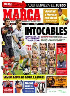 Intocables / Portada del 26 de Diciembre de 2012