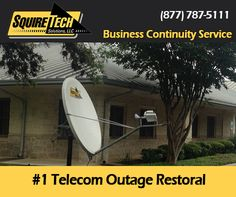 Business Continuity - Satellite Backup - Disaster Recovery Systems for Business / Enterprise - Satellite Communications