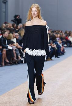 Trend Report: Side-Stripe Pants via @WhoWhatWearUK