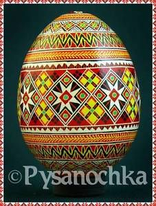 Real Ukrainian Pysanky. Chicken Pysanka High Q from Roman. Easter Egg Hand made