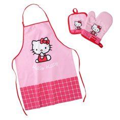 Schürzenset Hello Kitty 3-tlg.