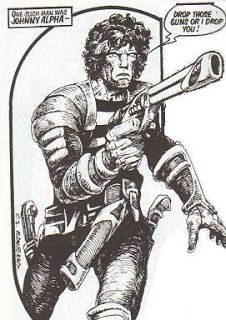 Pointless Philosophical Asides: Strontium Dog: Search/Destory Agency Files Vol 01