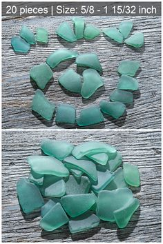 Color: seafoam, soft green, turquoise, bluish-greenish   Size:  cm: 1.6 - 3.7 inch: 5/8 - 1 15/32  Quantity: 20 pieces   You will receive the exact ones pictured pieces of sea glass.   This is a collection of 20 pieces of Genuine sea glass that we found on beaches of the Black sea, naturally tumbled by surf, sand and time. Each piece has been weathered by the sea for decades, and sometimes hundreds of years into little gems. Jewelry Crafts, Jewelry Art, Big Sea, Mosaic Crafts, Sea Glass Necklace, Sea Glass Art, Delicate Jewelry, Black Sea, Green Turquoise