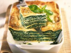 Découvrez la recette Lasagnes florentines sur cuisineactuelle.fr.
