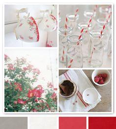 rose & raspberry via creature comforts Office Color Schemes, Colour Schemes, Color Combos, Favorite Paint Colors, My Favorite Color, Palette, Beautiful Color Combinations, Design Seeds, Creature Comforts