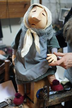 Very Old Woman by Little Angel Theatre, via Flickr