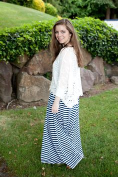 Crochet, Stripe Maxi + $25 to Skinny Pig Designs / hellorigby! fashion and lifestyle blog