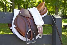 Beautiful english #horse saddle