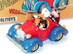 Auto Paperino Politoys  - anni 60- Donald Duck car by Politoys