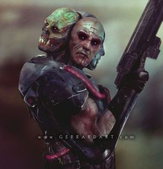 Here's an awesome collection of Masters of the Universe concept art created by artist Paul Gerrard, who previously worked as a conceptual designer on the new Hellboy film. His goal with these was to show us what some of the villains would look like as par Master Of The Universe, Universe Art, Teenage Mutant Ninja Turtles, Power Rangers, Hellboy Film, Paul Gerrard, Science Fiction, Into The Badlands, Shannara Chronicles