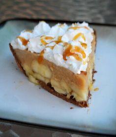 Banana caramel cream pie!!!