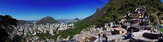 Favela Santa Marta - Comunidade - Botafogo - Rio de Janeiro - Brasil