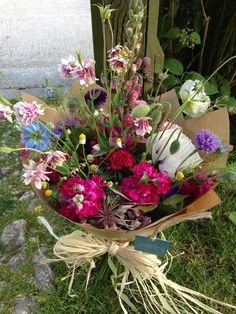 A gift for the Mums? Hand tied bouquet by the garden gate flower company