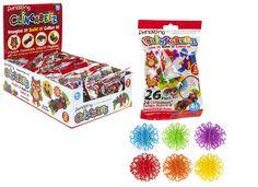 Clingabeez 26-teilig versch. Farben * Klettkugel * Klett-Kugel * Klettbällchen   Spielzeug, Basteln & Kreativität, Sonstige   eBay!