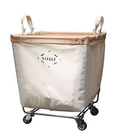 Steele Canvas Laundry Cart