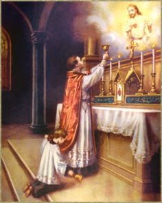 """On the myth that at the Latin Mass (and regarding ad orientem, period), the priest """"turns his back on the people"""": if we say that we want """"a relationship with Jesus Christ"""" and """"friendship with Jesus Christ,"""" might it not help if we all face Him, and face Him together? Be not afraid of ad orientem worship."""