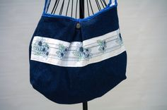 Hawaiian Themed Tote Bag  Crossbody Bag  by Geminivintagestore, $35.00