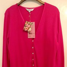 Fab East #vintage style #50s #lipstick #pink cardigan NWT #plussize 20 #XL 20 listed on UK #ebay tonight. (link to listings in bio)