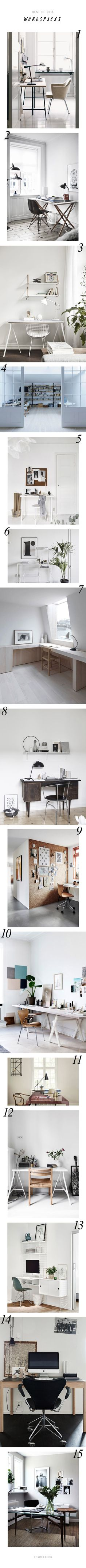 15 inspiring Scandinavian workspaces