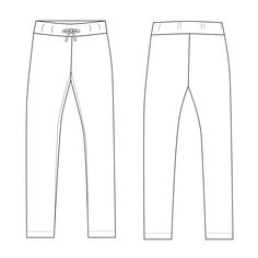 Free women's leggings pattern. Knit fabric leggings pdf pattern for women. Beginner sewing pattern. Pdf instant download.