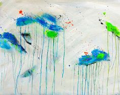 Astratto pittura, arte astratta ORIGINALE, grande parete arte su tela, belle arti, acrilico di 36 x 24 pollici pittura arte moderna arte contemporanea