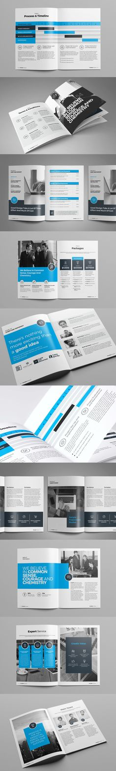 The Design Proposal Template consists of 24 page Adobe InDesign - web design proposal template
