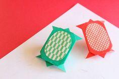 折り紙で亀の折り方