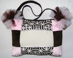 Ballerina LARGE Diaper Bag or Bag Baby Pink by diaperbags on Etsy, $110.00