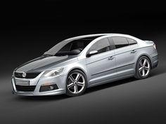 Volkswagen Passat Cc R 3D Model - 3D Model