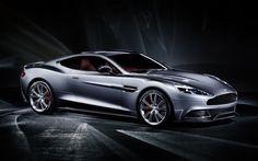 2013 Aston Martin Vanquish carro prata Papéis de Parede - 1920x1200