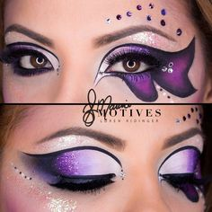 Need any last minute #halloweenmakeup ideas? We got you covered! Tag your friends ___________________  Halloween butterfly look by our #MotivesMaven @elymarino Products used: Angel eye khol Little Black Dress Gel Liner Plum Fairy Glitter Diamond Glitter Blizzard Shadow Heiress Shadow Aphrodite Shadow Fantasy Shadow Ecstasy Shadow Onyx Shadow Passion Lip Liner Bella Blush ____________________________________________ All #motives products are available for US/CAN at http://ift.tt/19oQHy4 or…