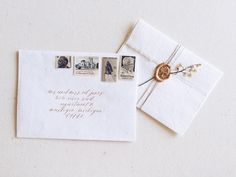 The perfect final touches to a simple envelope. For a shoot with @caroline_koehler