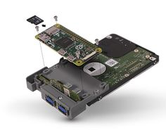 Pi Computer, Computer Projects, Small Computer, Arduino Projects, Projets Raspberry Pi, Raspberry Pi 2, Arduino Home Automation, Smart Home Automation, Diy Electronics