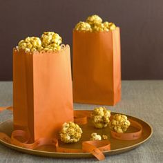 "Popcorn balls - TLC Cooking ""10 Healthy Halloween Treats"""
