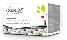 OxyGlow Pearl Bleach Cream Acne Diminishes scars Blemishes Redness - 1 KG #OxyGlow