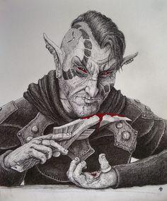 A Knife in the Dark by TheShieldofOak.deviantart.com on @DeviantArt