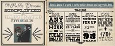 Check out this infographic about public domain images. Everything you ever needed to know about how to tell if an image is in the public domain.