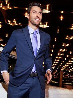 Sharkskin Suits by Calvin Klein Sharp Dressed Man, Well Dressed, Suit Shop, Man Shop, Suit Fashion, Mens Fashion, Macys Mens, Sharkskin Suit, Business Outfits
