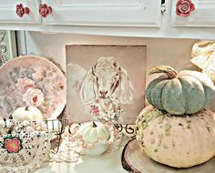 Penny's Vintage Home: Styling a Fall Vignette